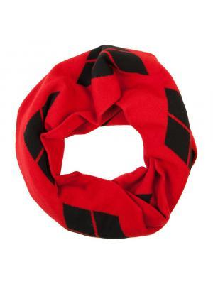 Harley Quinn Infinity Knit Scarf