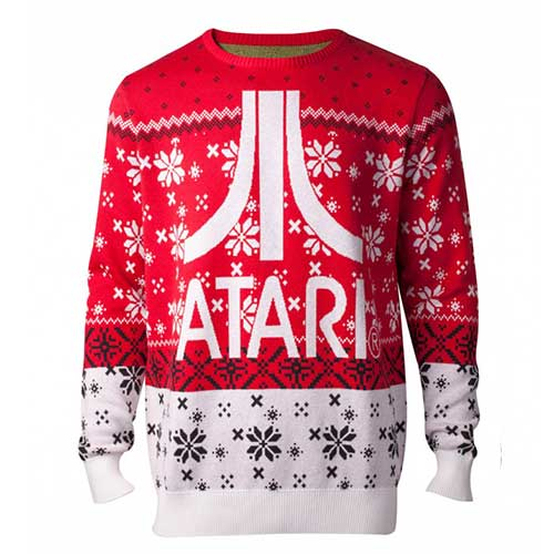 ATARI Logo Christmas Knitted Sweater