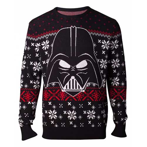 STAR WARS Star Wars The Last Jedi Darth Vader Christmas Knitted Sweater