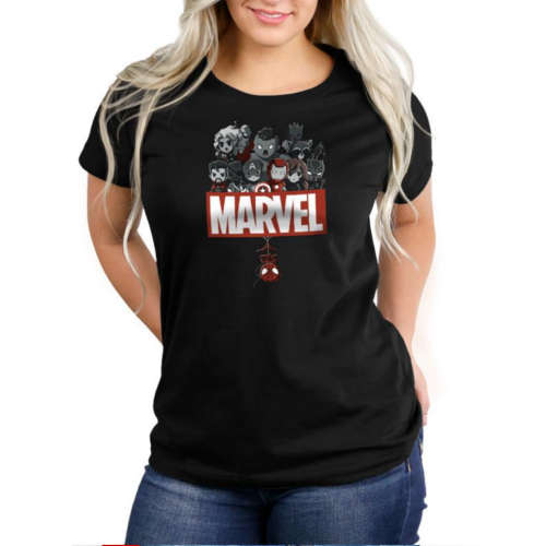 Marvel Superheroes Fitted Tshirt