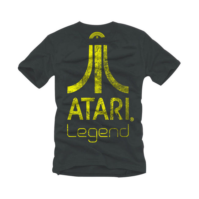 ATARI Legend Logo T-Shirt, Anthracite/Dark Grey