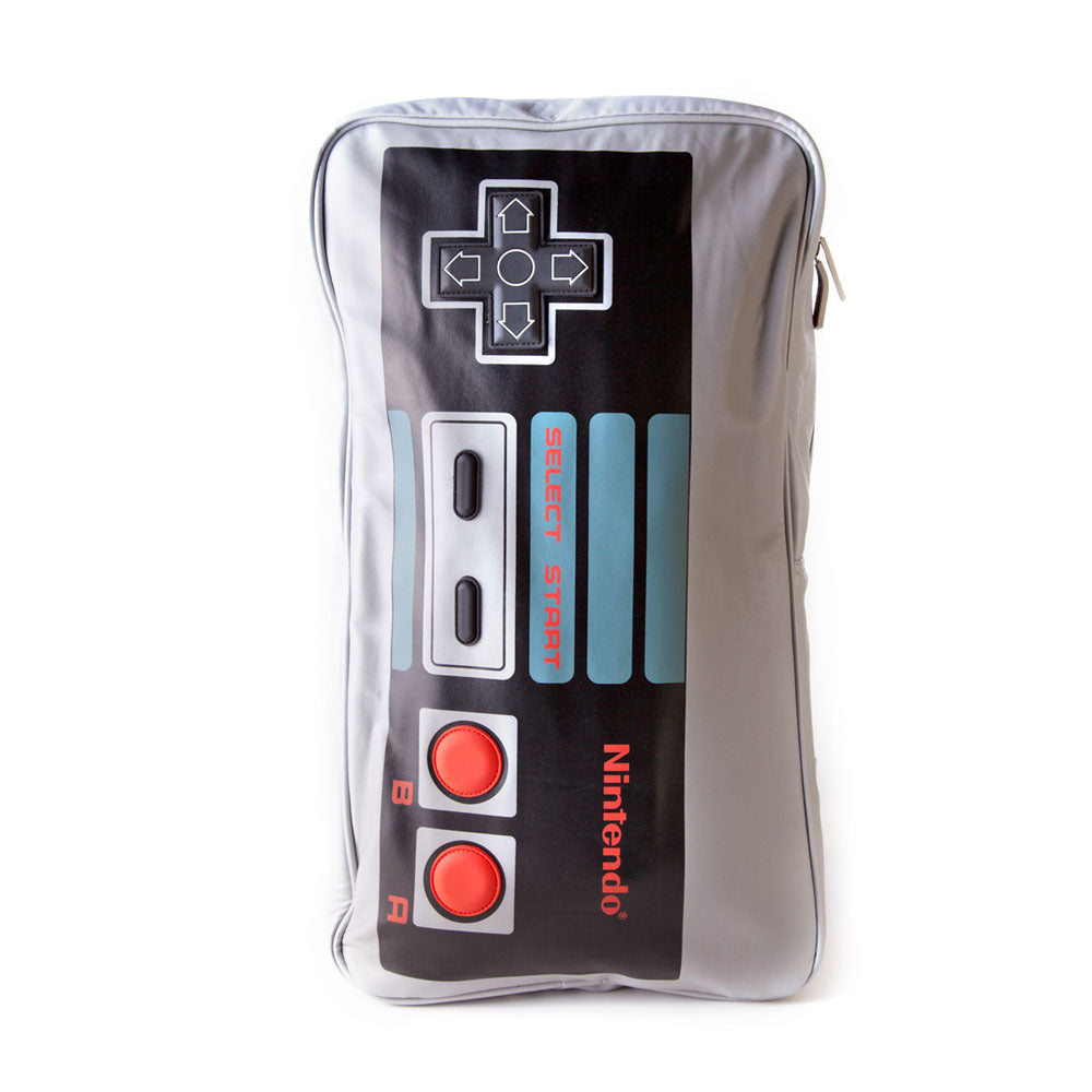 NINTENDO Original NES Controller Backpack, Grey/Black