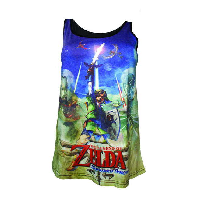 NINTENDO Legend of Zelda Skyward Sword Women's Sublimation Tank Top