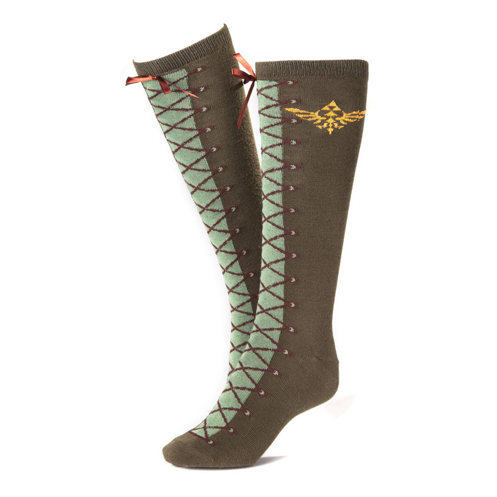 NINTENDO Legend of Zelda Skyward Sword Link's Boots  Knee High Socks