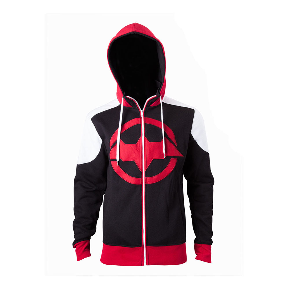 DC COMICS Batman Arkham Knight Red Hood Logo Hoodie
