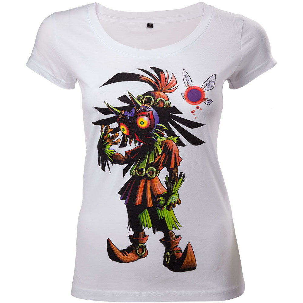 NINTENDO Legend of Zelda Majora's Mask Women's Skinny T-Shirt