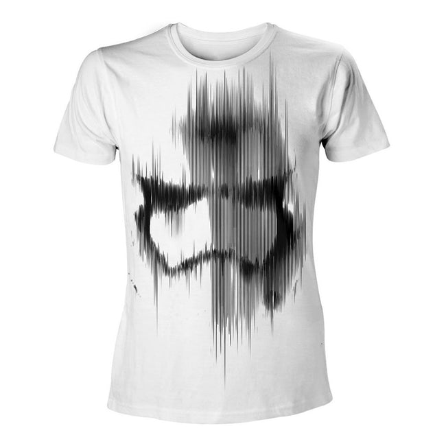 STAR WARS VII The Force Awakens  Distressed Stormtrooper T-Shirt