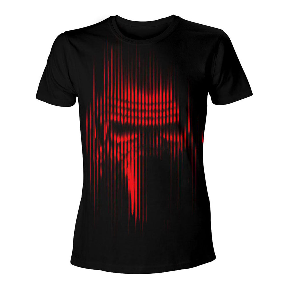 STAR WARS VII The Force Awakens Distressed Red Kylo Ren T-Shirt