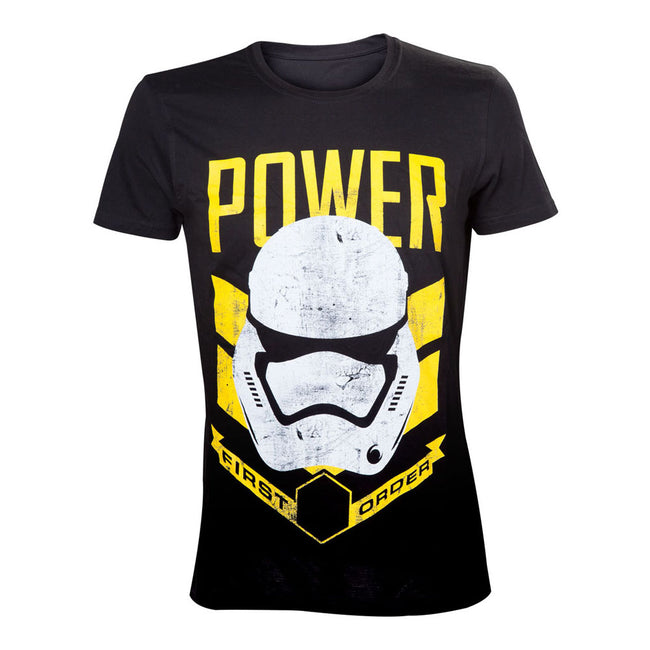 STAR WARS VII The Force Awakens  Stormtrooper First Order Power T-Shirt