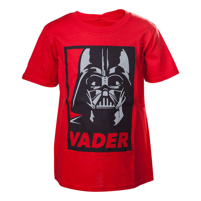 STAR WARS Kids Darth Vader Framed Closeup T-Shirt