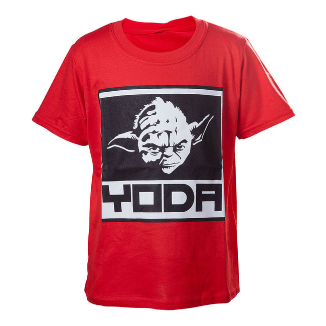 STAR WARS Kids Yoda Framed Closeup T-Shirt
