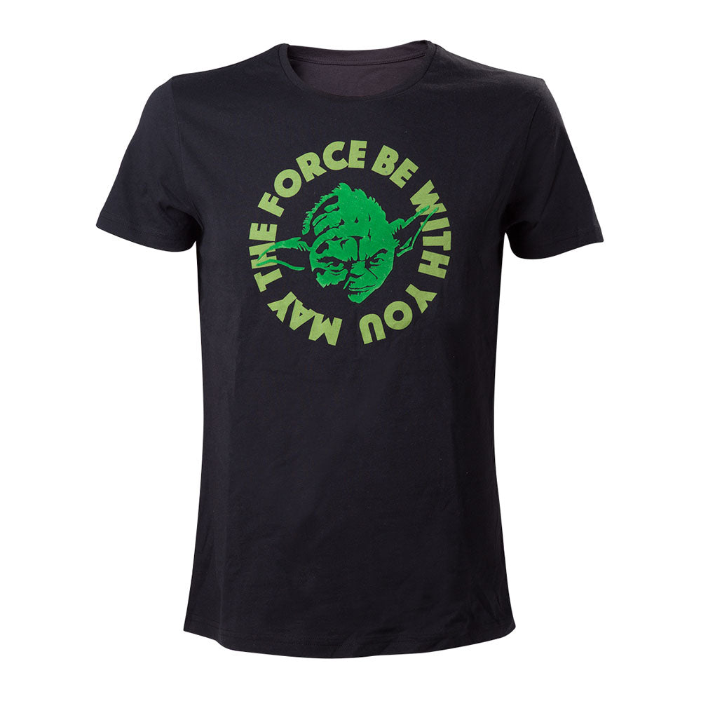 STAR WARS  Yoda....'May The Force Be With You' T-Shirt