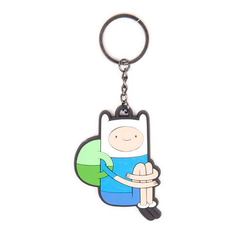 ADVENTURE TIME Princess Bubblegum Rubber Keychain, One Size, Multi-Colour