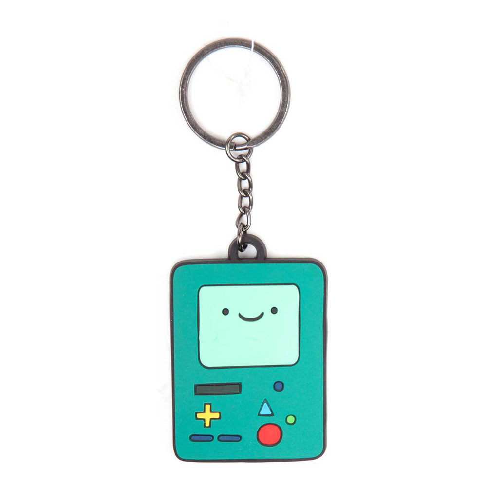 ADVENTURE TIME Beemo BMO Vido Game Console Rubber Keychain, One Size, Multi-Colour