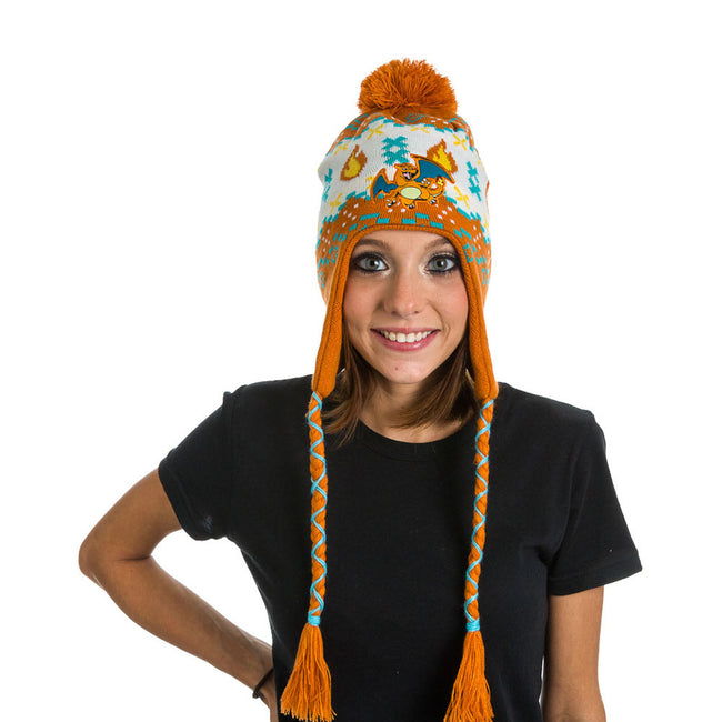 POKEMON Charizard Laplander Earflap Beanie, One Size, Multi-Colour (KC1XK7POK)
