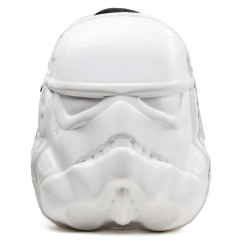STAR WARS Stormtrooper Mask Backpack, One Size, White