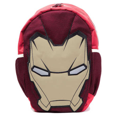 MARVEL COMICS Iron Man Shaped Mask Backpack, One Size, Multi-Colour