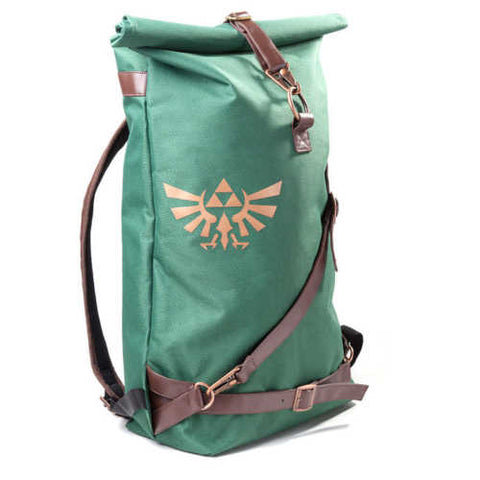 NINTENDO Legend of Zelda Hylian Shield Messenger Bag, Brown
