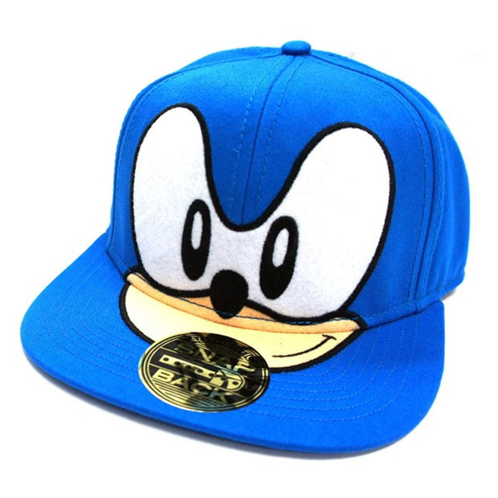 a436c52f6fe SEGA Sonic the Hedgehog Big Face Snapback Baseball Cap