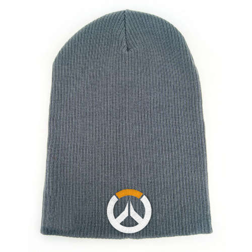 OVERWATCH Embroidered Game Logo Cuffless Beanie