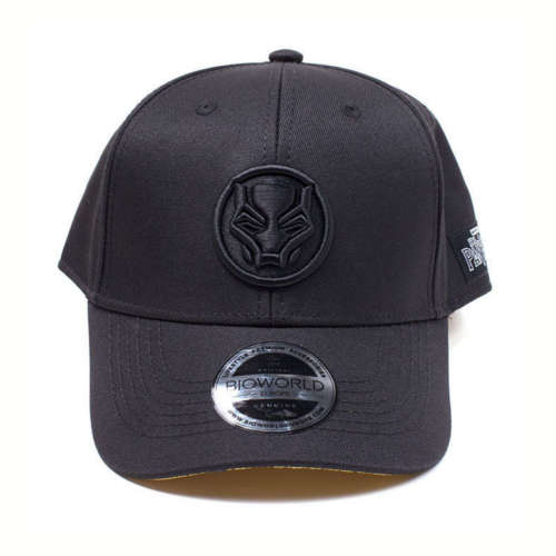 Black Panther Curved Bill Cap
