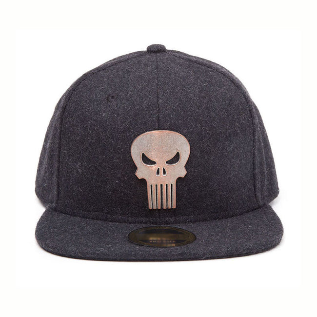 MARVEL COMICS The Punisher Skull Logo Badge Snapback