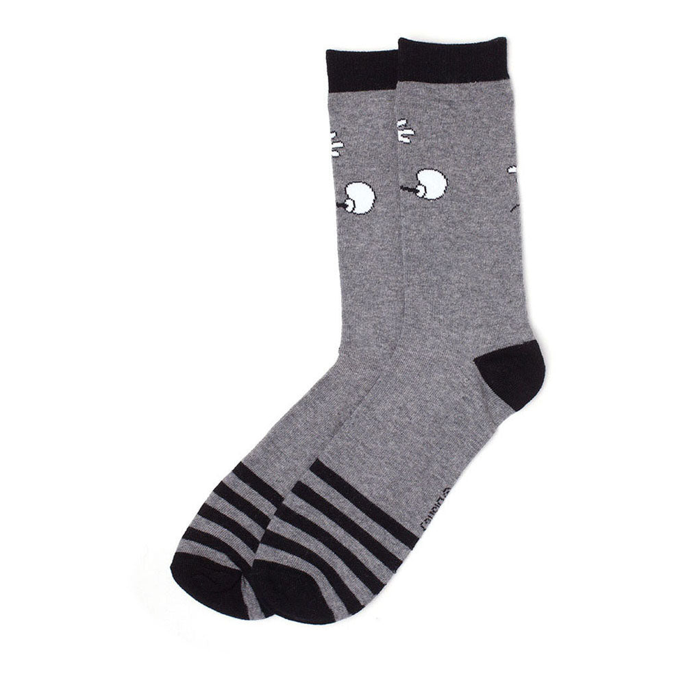 DISNEY Mickey Mouse Wide Arms Crew Socks