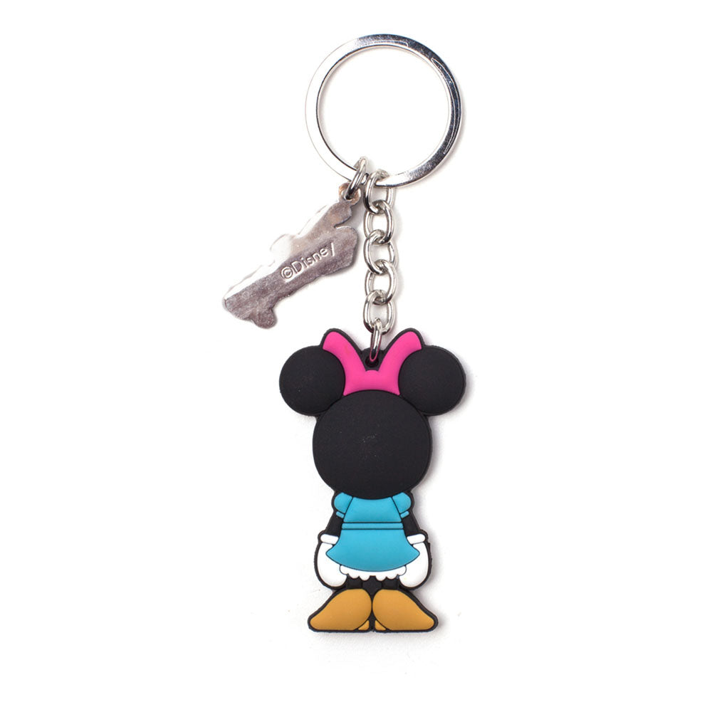 DISNEY Minnie Mouse Rubber Keychain, Unisex, Multi-colour (KE874247MCK)