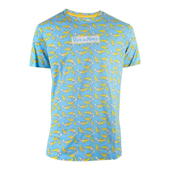 RICK AND MORTY Banana All-over Print T-Shirt