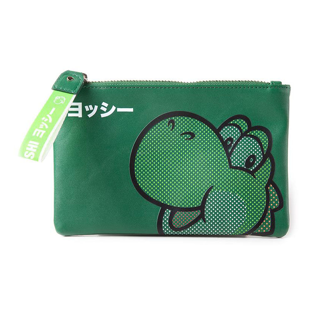 NINTENDO Super Mario Bros. Rubber Yoshi Face Coin Purse Wallet