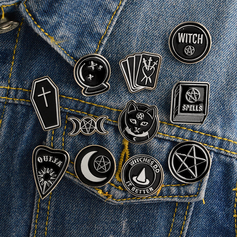 Witches do it better Lapel pin collection