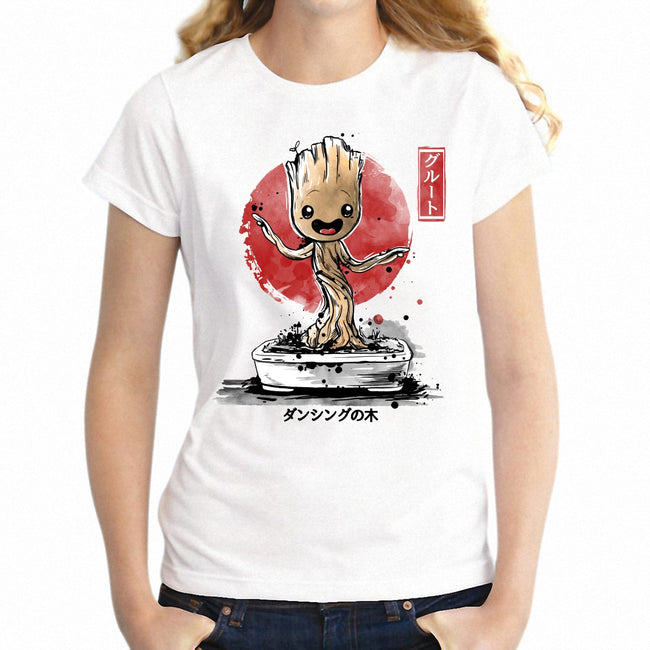 Bonsai Groot Geek Tee