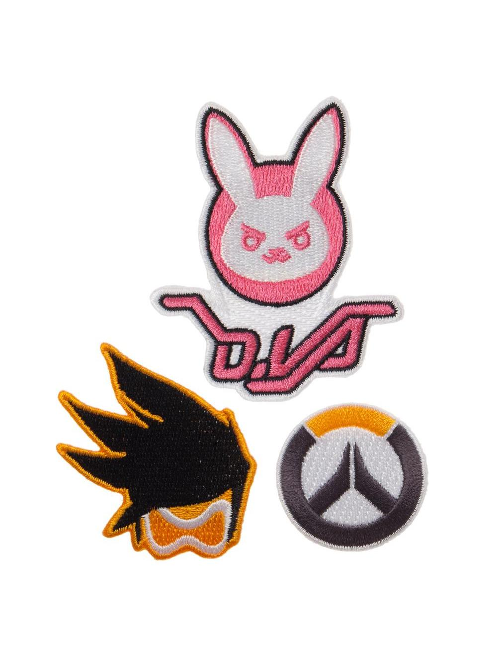 Overwatch 3 Piece Patch Set