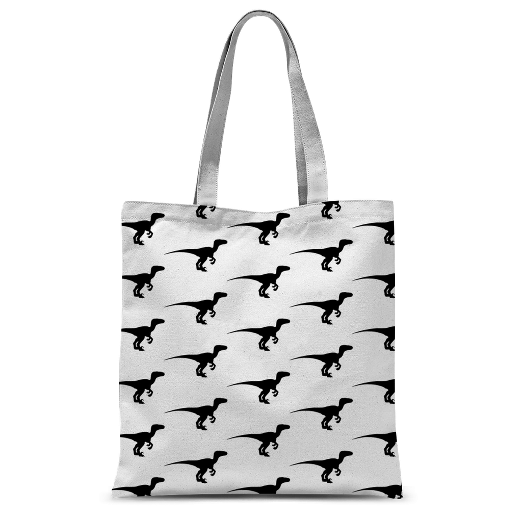 Dino All Over Tote Bag