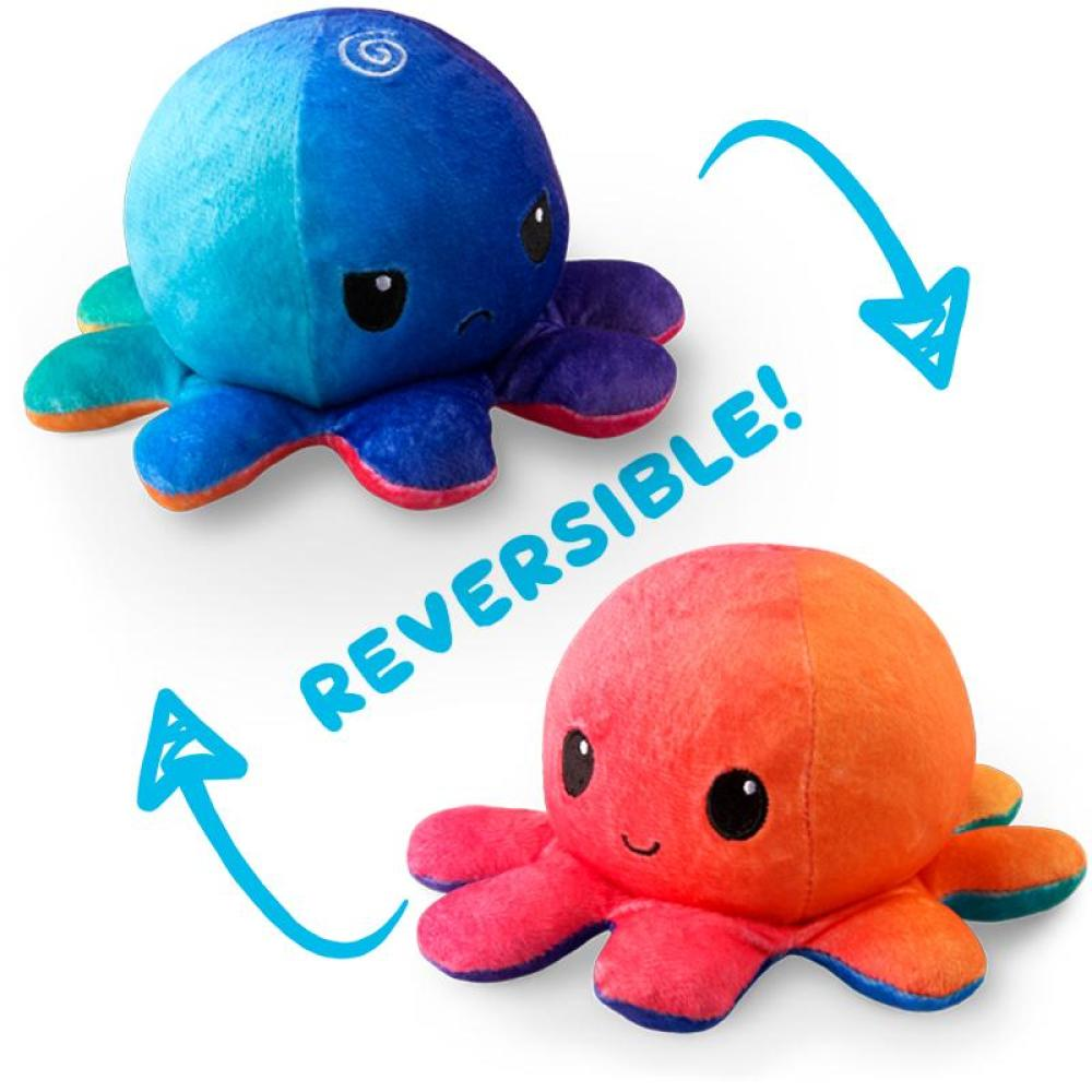 Pre Order Reversible Octopus Plush Tee Turtle