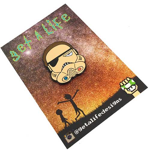 EVIL MORTY STORMTROOPER: Rick & Morty x Star Wars Enamel Pin