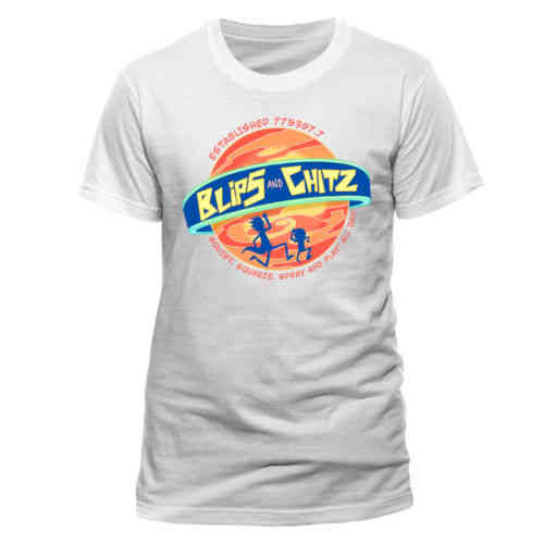 Rick And Morty - Blips And Chitz Unisex