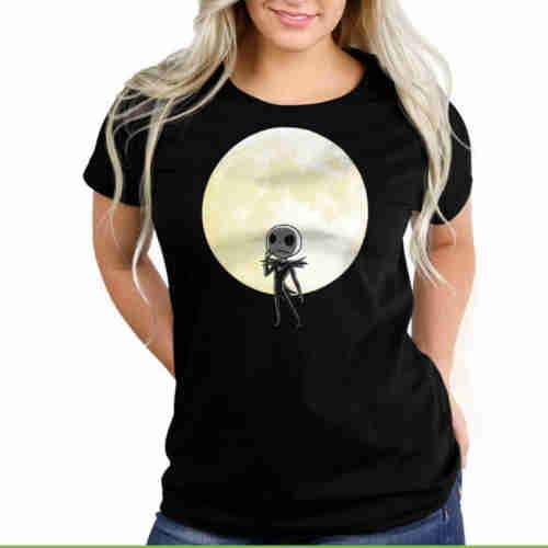 Shadow On The Moon Fitted Glow in the Dark Tee