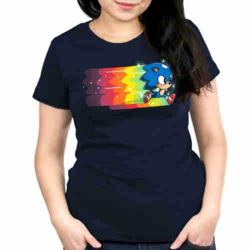 Speed Of Light Fitted Tshirt