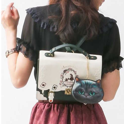 Goth Alice In Wonderland Backpack