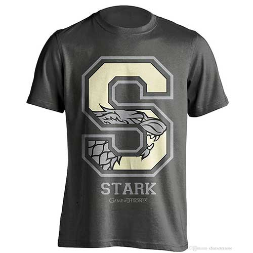Game Of Thrones – Stark Varsity – T-Shirt