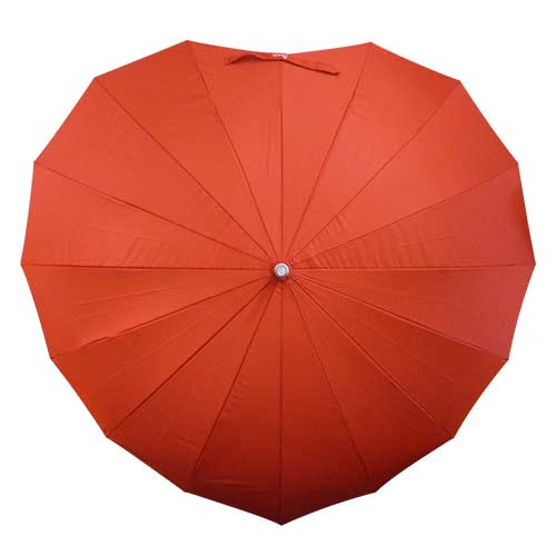 Heart umbrella kawaii