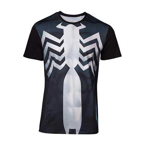 MARVEL COMICS Spider-man Venom Suit Unisex Tee