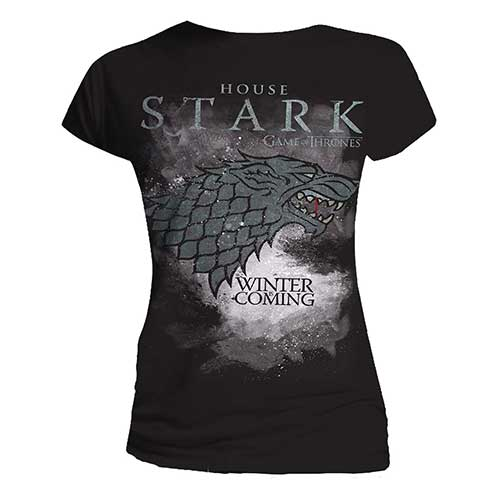 Game Of Thrones Stark Fitted T-Shirt