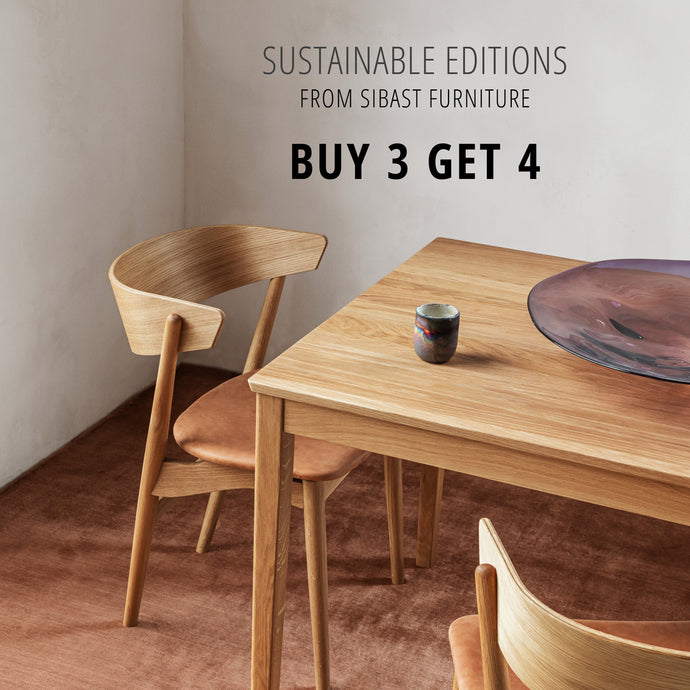 Sibast No 7 Sustainability Campaign - 4 for 3