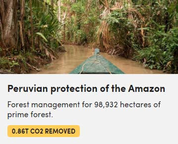 Peruvian Protection of the Amazon