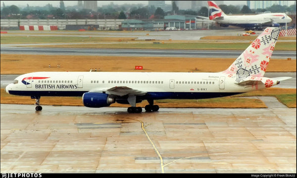 British Airways B757-200 G-BIKY