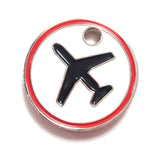 Trolley Coin - Warning Low Flying Planes (£) | aviamart® | Aviamart