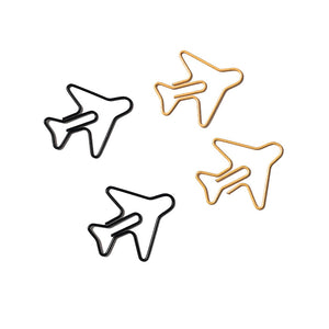 Airplane Paper Clips 20 pcs