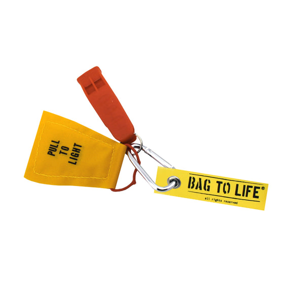 Bag To Life Captains Keychain / Key Holder - Yellow - aviamart
